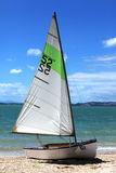 Sailing boat number fifty two Stock Images