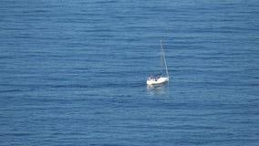 Sailing Boat at Ocean Royalty Free Stock Photos