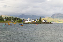 Sailing boat at Plockton Stock Photos