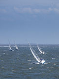 Sailing boat race Royalty Free Stock Image