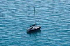 Sailing boat stops Royalty Free Stock Photography