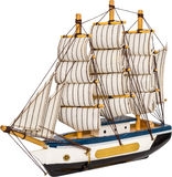 Sailing Boat Toy Royalty Free Stock Photography