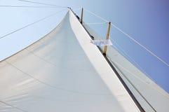 Sails of Sailing Boat Royalty Free Stock Photography