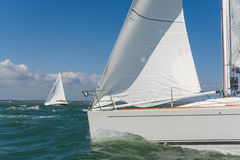 Sailing Boat Yachts Royalty Free Stock Photos