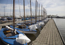 Sailing boats 1 Stock Image