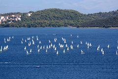 Sailing boats Royalty Free Stock Photos