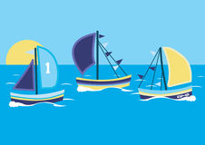 Sailing boats. Stock Photography