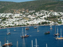 Sailing boats in Bodrum Stock Photography
