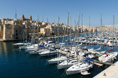 Sailing Boats in Malta Royalty Free Stock Images
