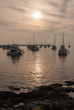 Sailing Boats Marina Punta del Este Uruguay Royalty Free Stock Image