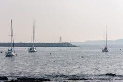 Sailing Boats Marina Punta del Este Uruguay Stock Images
