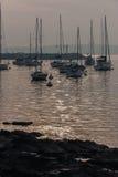 Sailing Boats Marina Punta del Este Uruguay Royalty Free Stock Images