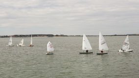 Sailing boats presentation Royalty Free Stock Image