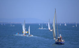 Sailing boats regatta,Burgas Stock Photography