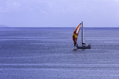 Sailing boats on sea Royalty Free Stock Images