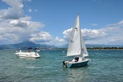 Sailing boats in the summerday Stock Photo