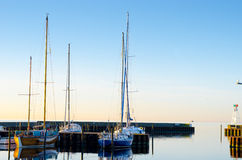 Sailing boats Stock Images