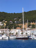 Sailing boats and yachts. (Estartit - Costa Brava, Spain Stock Photo