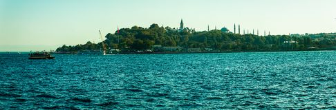 Sailing Bosphorus Royalty Free Stock Photos
