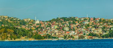 Sailing Bosphorus Royalty Free Stock Photography