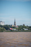 Sailing Buenos Aires, San Isidro Cathedral, Traveling Argentina. Stock Photography