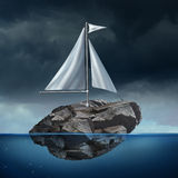 Sailing Business Problem Stock Photography