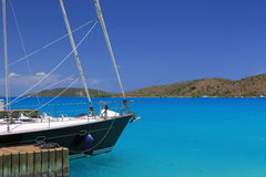 Sailing BVI Royalty Free Stock Images