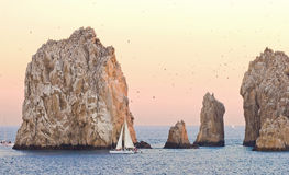 Sailing in Cabo San Lucas Royalty Free Stock Photos
