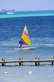 Sailing in the Caribbean Royalty Free Stock Photography