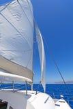 Sailing catamaran Stock Photography