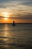 Sailing on the Chesapeake Royalty Free Stock Photo