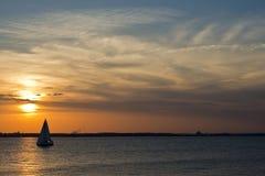 Sailing on the Chesapeake Stock Image