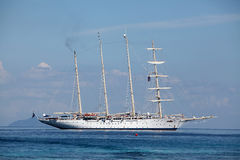 Sailing Clipper ship Stock Images