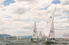 Sailing competition Royalty Free Stock Image