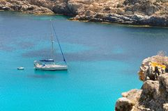 Sailing in Corsica Stock Images