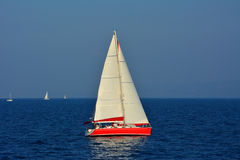 Sailing in Croatia Royalty Free Stock Image