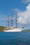 Sailing cruise ship Royalty Free Stock Image