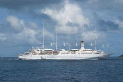 Sailing cruise ship Royalty Free Stock Photo