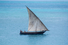 Sailing Dhow Royalty Free Stock Photography