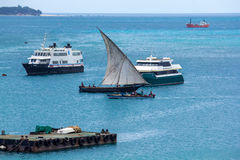 Sailing Dhow Royalty Free Stock Photo