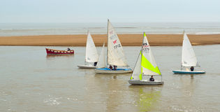 Sailing Dinghies Royalty Free Stock Image