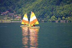 Sailing Dinghies Royalty Free Stock Photography