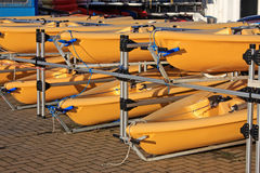 Sailing Dinghies Royalty Free Stock Images