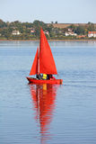 Sailing Dinghy Royalty Free Stock Photo