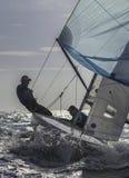 Sailing 420-6 stock photo