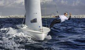 Sailing 420-11 royalty free stock photo