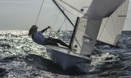 Sailing 420-13 Stock Photography