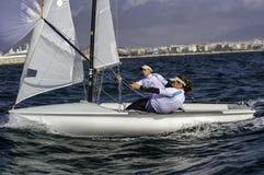 Sailing 420-18 Royalty Free Stock Photos