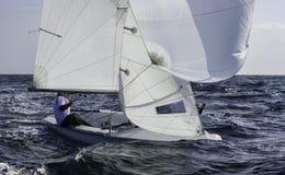 Sailing 420-19 Royalty Free Stock Photos
