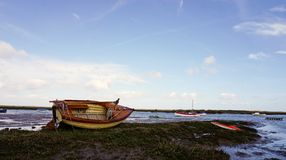 Sailing dinghy. Stock Photography